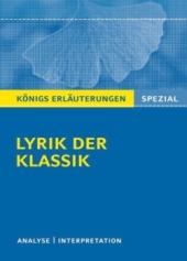 Lyrik Klassik Interpretiert Interpretation Und Analyse Als