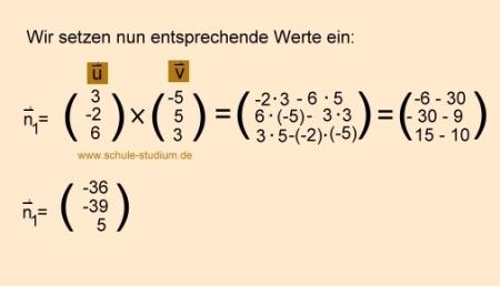 Normalenvektor Berechnen : analytische geometrie und lineare algebra schnittwinkel zweier ebenen berechnen ~ Themetempest.com Abrechnung