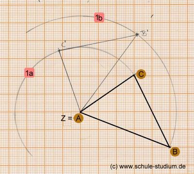 drehung mathematik klasse 6
