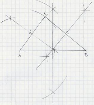 geometrie dreieckskonstruktion konstruktion eines umkreises konstruktionsbeschreibung. Black Bedroom Furniture Sets. Home Design Ideas