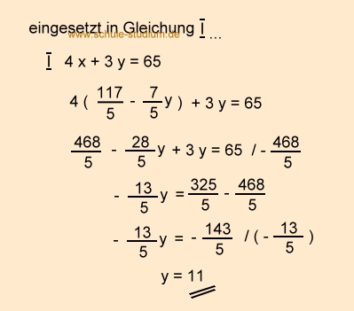 Lineare Gleichungssysteme mit Textaufgaben, Lösungsverfahren im ...