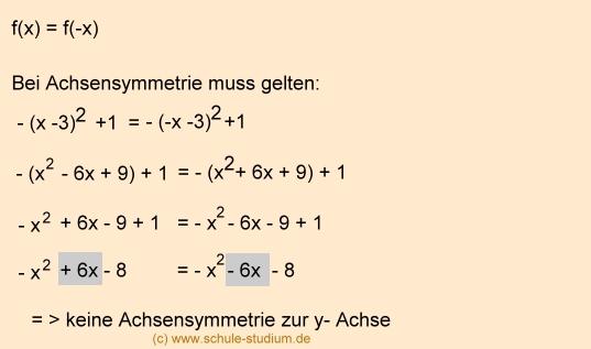 Symmetrieverhalten (3) Achsensymmetrie/Punktsymmetrie - Mathematik ...