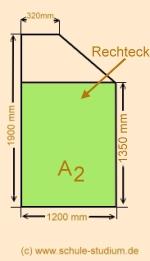 mathematik 8 klasse fl cheninhalt eines trapezes. Black Bedroom Furniture Sets. Home Design Ideas