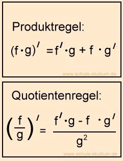 E-Funktionen - Ableitungsregeln und Übungen zur Ableitung von e ...