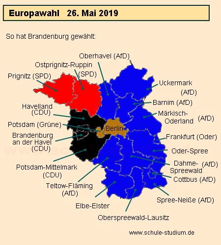 wahlprognose europawahl