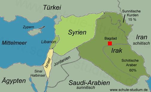 Syrien Irak Karte.Irak Religiöser Fanatismus Unruhen Kämpfe Zwischen Islamistischen
