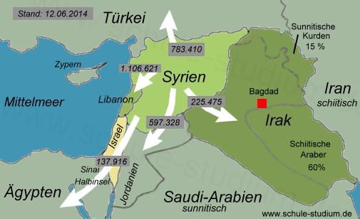 Bürgerkrieg in SYRIEN. Chronologie der Ereignisse- Unruhen/Aufruhr ...
