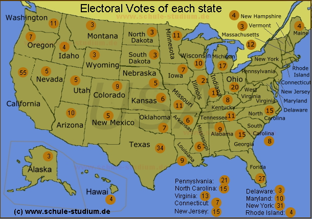 präsidentenwahl in amerika