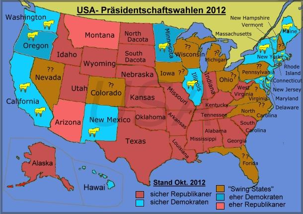 ergebnisse präsidentschaftswahl usa