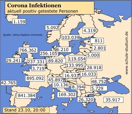 Corona Infektionen Niederlande