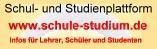 http://www.schule-studium.de -- Infos für Lehrer, Schüler und Studenten